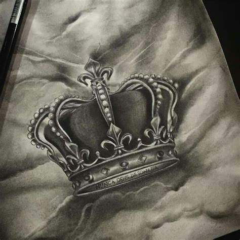 25 best ideas about king crown tattoo on pinterest