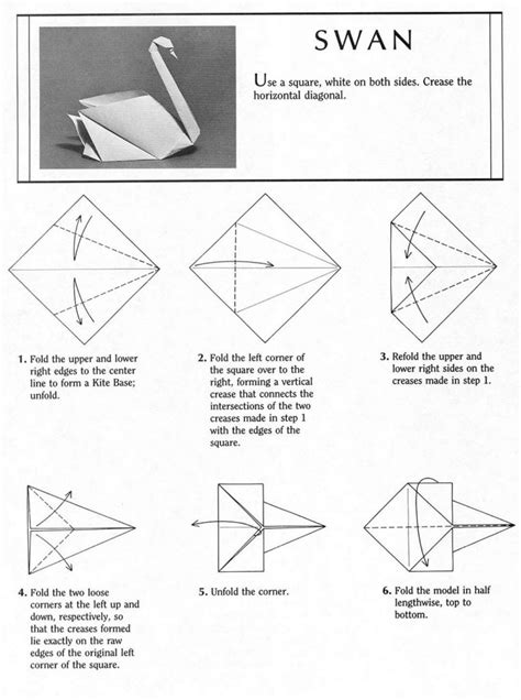 how to make origami swan free coloring pages how to make d origami swan part swan