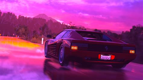 80s Car Wallpaper by Synthwave Wallpaper 80 Images