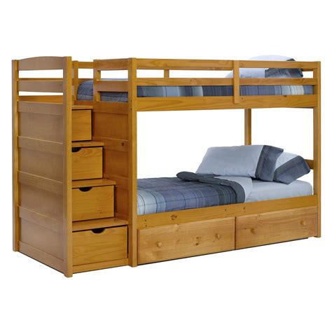 bunk beds with stairs bunk beds with stairs decofurnish
