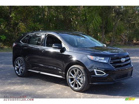 Black Ford Edge by 2016 Ford Edge Sport Awd In Shadow Black C56023 All