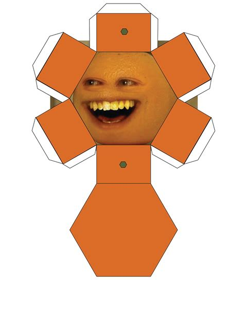 paper craft annoying orange papercrafts annoying orange papercrafts