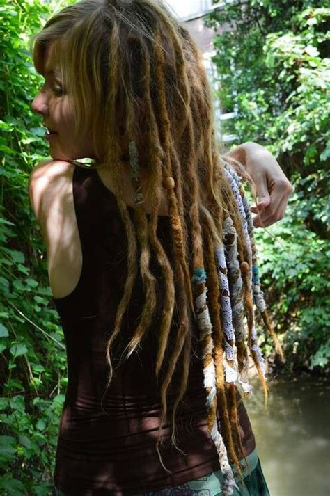 beaded dreads wrapped dreads style