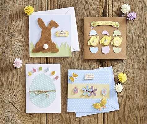 easy easter cards to make easy easter cards part one hobbycraft
