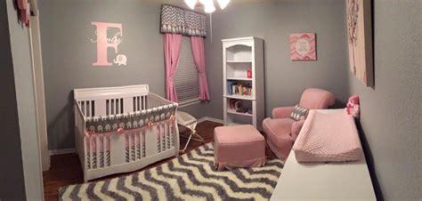 pink and grey nursery decor pink and grey elephant nursery project nursery