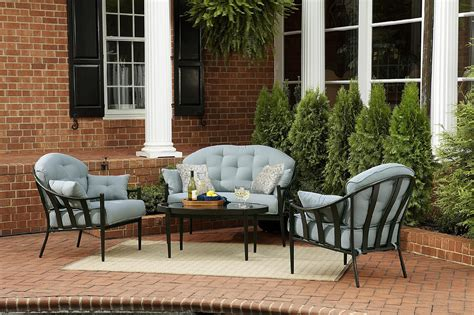 seating patio furniture sets chandler 4pc outdoor seating set get your sumptuous
