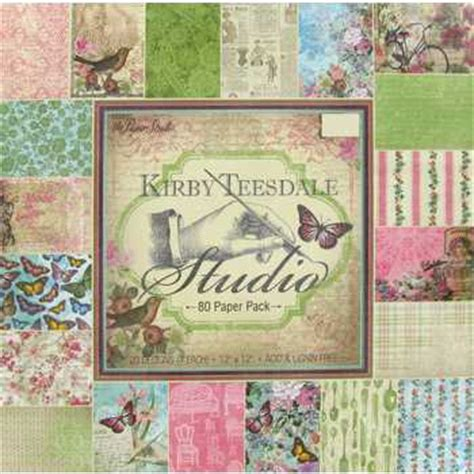 hobby lobby craft paper 12 quot x 12 quot 80 sheets kirby teesdale studio paper pack