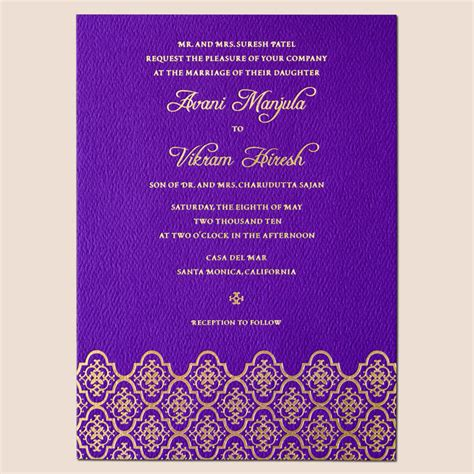 make your own invitation cards best album of indian wedding invitation cards theruntime