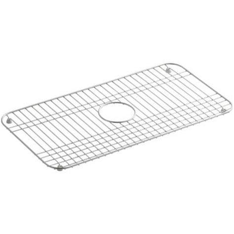 bakersfield rubber st kohler bakersfield bottom sink basin rack k 6517 st the