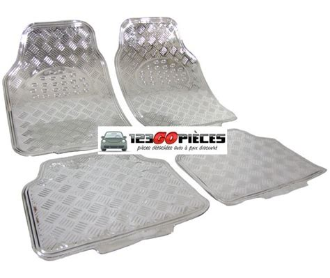 promo tapis de sol universel voiture look chrome aluminium 34 90 tapis de sol pi 232 ces auto