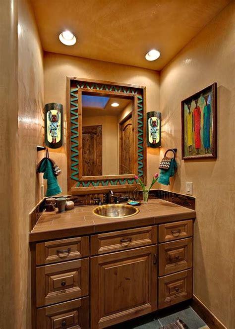 southwest bathroom decorating ideas 25 southwestern bathroom design ideas