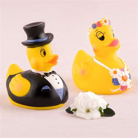 groom rubber st and groom rubber ducks wedding decorations