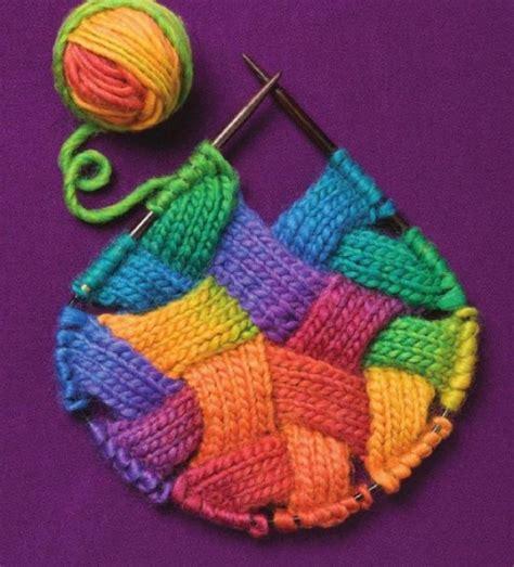 entrelac knitting entrelac knitting