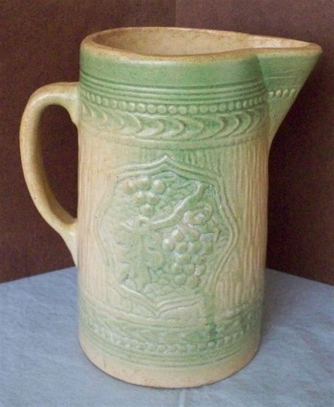 17 best images about antique stoneware pitchers on