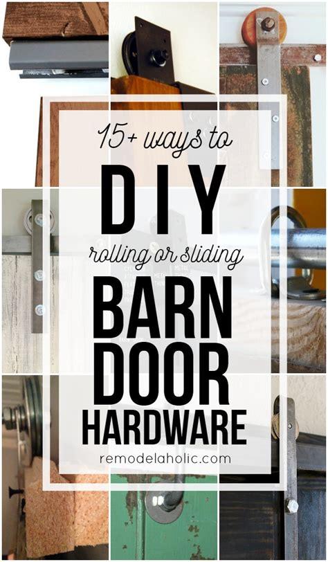 barn door and hardware 20 diy barn door tutorials