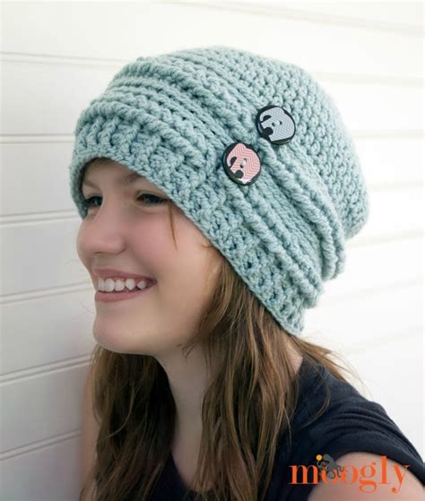 how to knit a slouchy beanie for beginners crochet slouchy beanie hat pattern crochet and knit