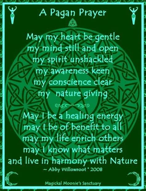 witches prayer 17 best images about pagan blessings prayers on