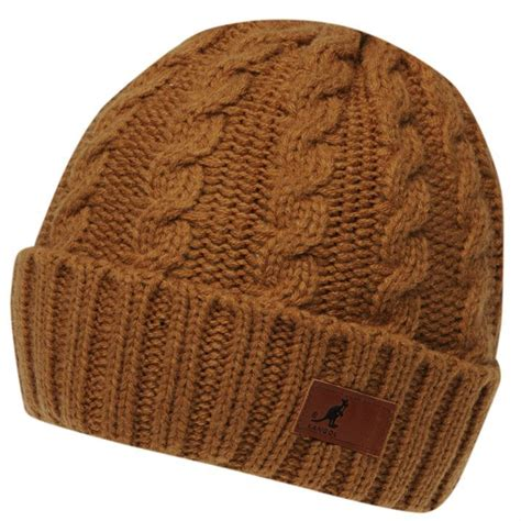 mens cable knit beanie kangol mens cable knit beanie hat snow winter warm