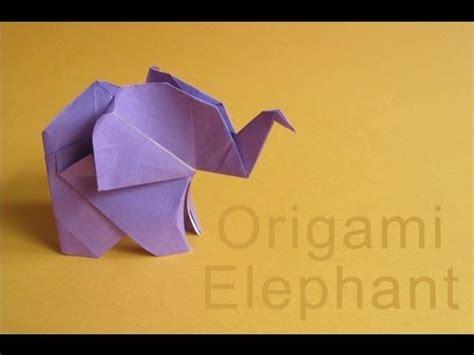 how to make origami elephant origami elephant elefante de papel