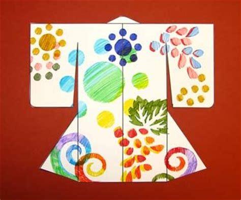 asian crafts for make a katazome kimono activity asian museum