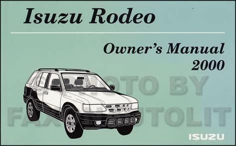 motor repair manual 2000 isuzu vehicross on board diagnostic system service manual 2000 isuzu rodeo free repair manual 2001 isuzu vehicross free repair manual