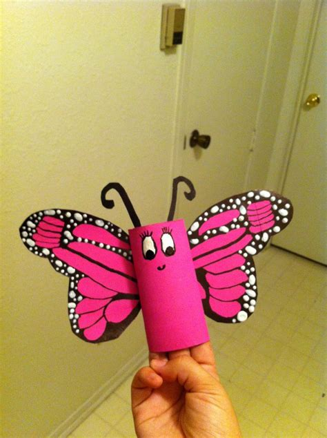 toilet paper roll butterfly craft toilet paper roll butterfly craft ideas