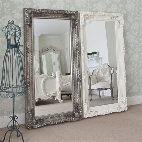 large shabby chic mirror white shabby chic mirrors ideas