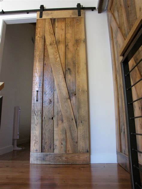reclaimed wood barn doors sliding barn door reclaimed wood ideas for the home