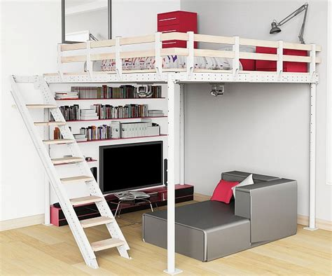 diy loft bed free diy loft bed plans friendly woodworking projects