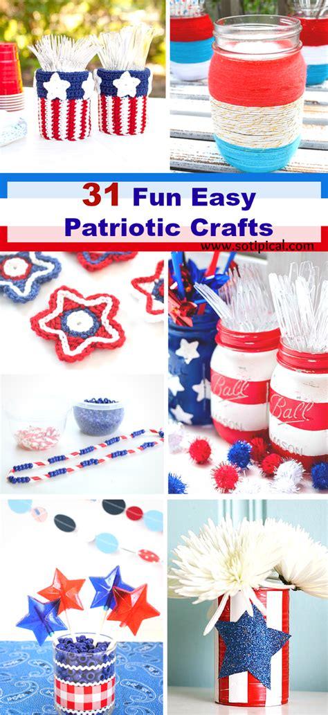 patriotic crafts for 31 easy patriotic crafts