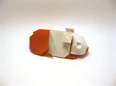 origami guinea pig orimin mindaugas cesnavicius deviantart