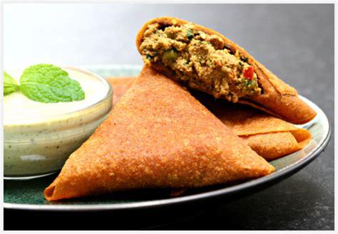 foods recipes vegetarian recipes vegetable samosas the chef