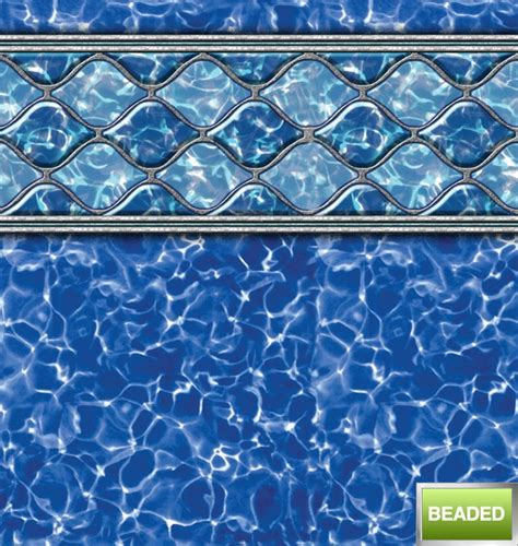 above ground beaded pool liners wave http www abovegroundpoolbuilder above
