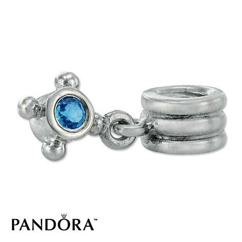 retired pandora jared pandora compass blue topaz retired dangle charm