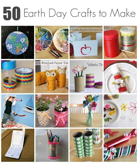 how to make kid crafts 50 earth day crafts to make with make and takes