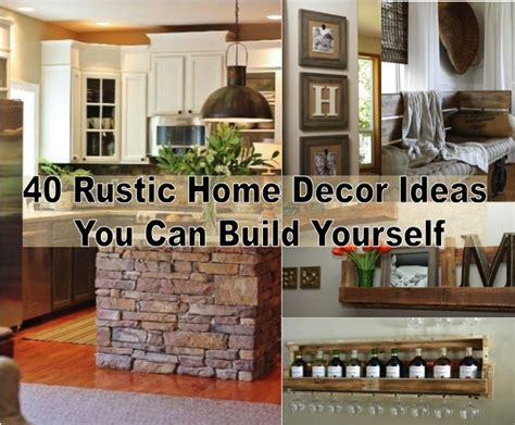 home decor source and rustic crafts and decorating