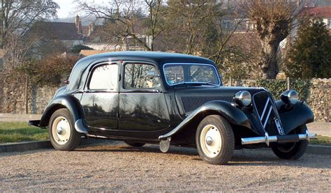 Citroen Traction by Citroen Traction Avant Impact The World