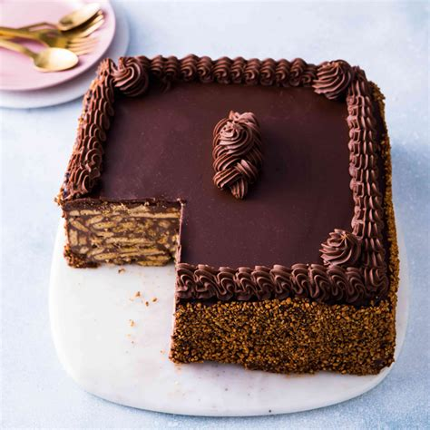 chocolate biscuit cake belgian chocolate biscuit cake 10 quot square