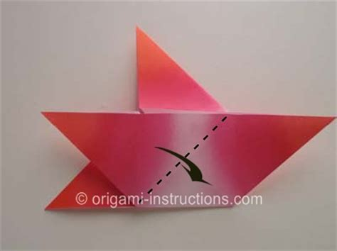 four pointed origami origami 4 pointed folding how to fold