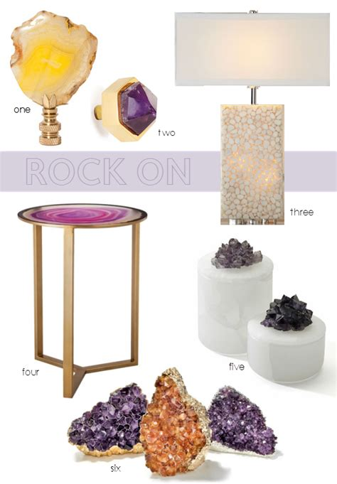 home decor stones home decor trend rock on simplified bee