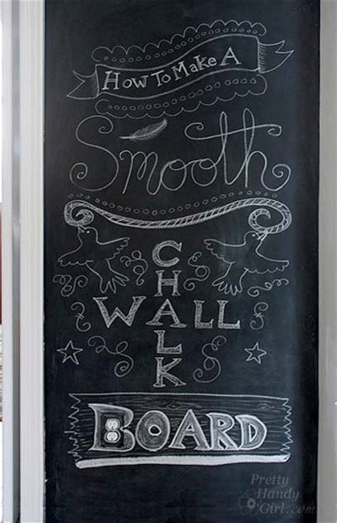 chalkboard paint textured wall how to make a smooth chalkboard wall for imperfect walls