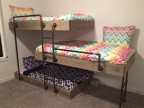 three way bunk bed 25 best ideas about bunk beds on