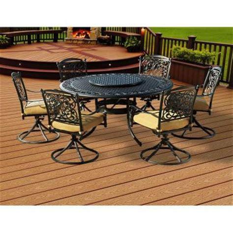patio dining sets home depot sunjoy garden grove 8 patio dining set l dn366sal 3
