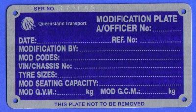 Car Modification Engineering Certificate by Compliance Or Cars And Vehicles Imported To Australia