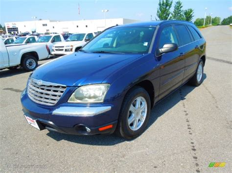 Blue Chrysler Pacifica by Midnight Blue Pearl 2004 Chrysler Pacifica Standard