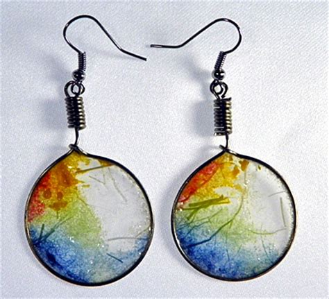 how to make paper jewelry translucent rice paper earrings as droplets jewelry and