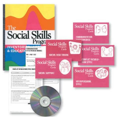 the social skills picture book the social skills book cards set cards social skills
