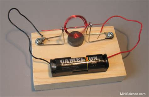 Simple Motor by Magnet Motor A Simple Dc Motor