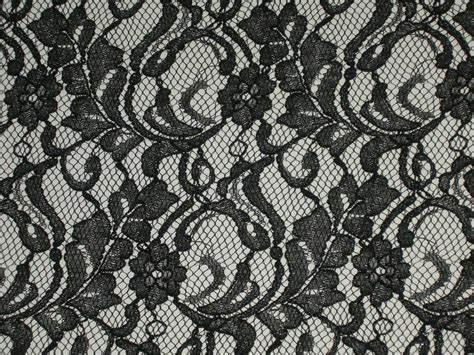 lace fabric black lace fabric scalloped material floral