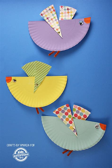 bird paper plate craft 100 paper plate crafts for tgif this is